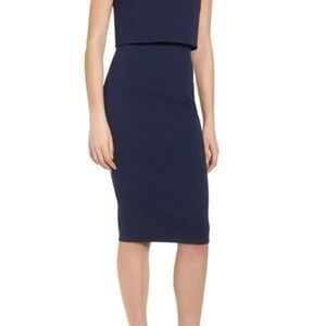 Soprano Dresses - Popover Midi Body-Con Dress